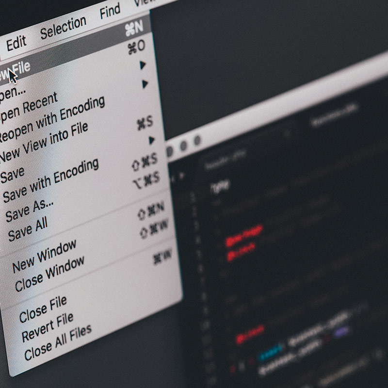 coding in sublime editor